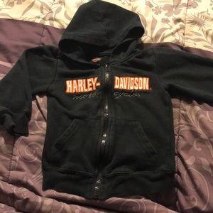 Harley-Davidson Black Toddler ZipUp Size 4T